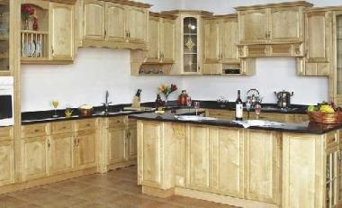 Kệ tủ bếp gỗ sồi Nga giá rẻ - thông số kích thước làm lắp đặt