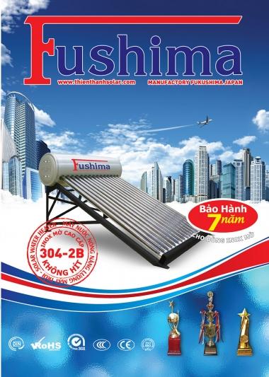 Máy nước nóng năng lượng mặt trời Fushima